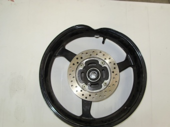 Motorcycle Wheel Before & After